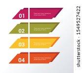 informational infographic... | Shutterstock .eps vector #1549527422