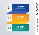 hierarchical infographic... | Shutterstock .eps vector #1549546505