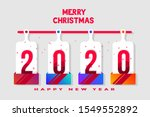 merry christmas and happy new... | Shutterstock . vector #1549552892
