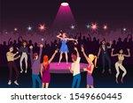 concert performance  disco...   Shutterstock .eps vector #1549660445