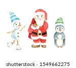 christmas winter illustration... | Shutterstock . vector #1549662275