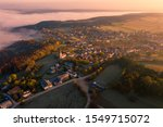 Small Town Village During The...
