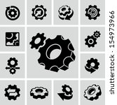 gears icons vector