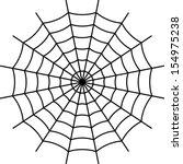 Spider Web   Black Vector