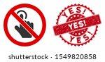 vector no click icon and...