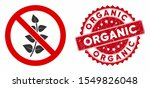 vector no flora plant icon and... | Shutterstock .eps vector #1549826048