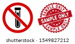 vector no test tube icon and... | Shutterstock .eps vector #1549827212