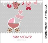 baby card | Shutterstock . vector #154989365