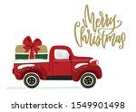 christmas card design with... | Shutterstock .eps vector #1549901498