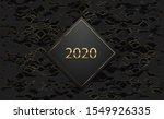 2020 luxury banner. golden text ... | Shutterstock .eps vector #1549926335