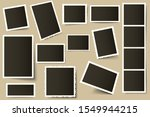 retro photo frames. vintage... | Shutterstock .eps vector #1549944215