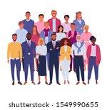 modern business team. vector...   Shutterstock .eps vector #1549990655