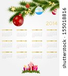 abstract beauty christmas and... | Shutterstock .eps vector #155018816