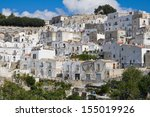 panoramic view of monte sant... | Shutterstock . vector #155019926