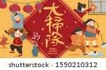spring cleaning scene with...   Shutterstock . vector #1550210312