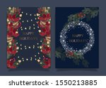 christmas and happy season...   Shutterstock .eps vector #1550213885