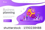 plan of action  startup project ... | Shutterstock .eps vector #1550238488