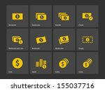 dollar banknote icons. see also ...