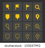 gps and navigation icons. see...
