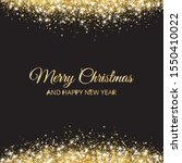 merry christmas and new year...   Shutterstock .eps vector #1550410022