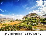 zahara de la sierra  beautiful...   Shutterstock . vector #155043542