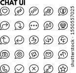 illustration of chat user...