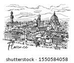 Florence Sketch Vector...
