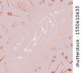 elegant design musical notes....   Shutterstock .eps vector #1550610635