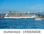 la spezia  italy   july 10 ... | Shutterstock . vector #1550656028