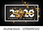 new year typographical creative ... | Shutterstock .eps vector #1550690102