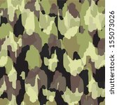 camouflage modern stylish... | Shutterstock .eps vector #155073026