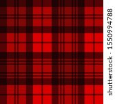 red black tartan plaid seamless ... | Shutterstock .eps vector #1550994788