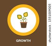 investment growth. investment... | Shutterstock .eps vector #1551009005