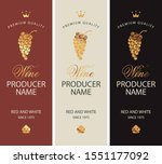 set of two vector labels for... | Shutterstock .eps vector #1551177092
