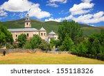 monasterio de santa maria del... | Shutterstock . vector #155118326