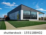Gray Contemporary Building With ...