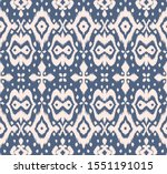 lace border. ikat seamless... | Shutterstock .eps vector #1551191015