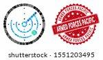collage round radar and grunge... | Shutterstock .eps vector #1551203495