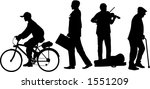 vector silhouette graphic...   Shutterstock .eps vector #1551209