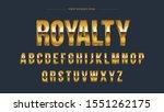 golden chrome metallic steel...   Shutterstock .eps vector #1551262175
