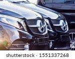 Black Luxury Van Two Mercedes...
