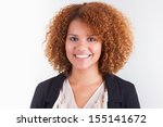 portrait of a young african... | Shutterstock . vector #155141672