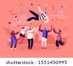 friends birthday party ... | Shutterstock .eps vector #1551450995