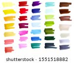 sketch markers swatches ... | Shutterstock . vector #1551518882