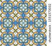 abstract vector seamless... | Shutterstock .eps vector #1551573032