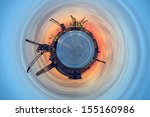 Industrial World - a vision of humorous. - stock photo