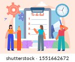 app for daily tasks planning ... | Shutterstock .eps vector #1551662672