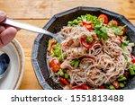 Yum Rice Noodles Salad Salad...