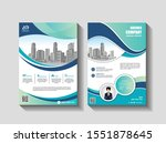 abstract cover and layout for...   Shutterstock .eps vector #1551878645