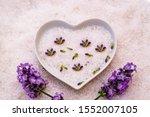 Lavender Blossom And Bath Salt...